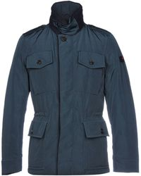 Peuterey Synthetic Down Jacket - Blue