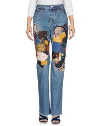 COACH Denim Trousers - Blue