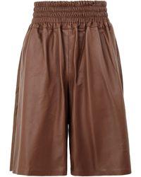 8 by YOOX Shorts & Bermuda Shorts - Brown