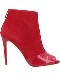 Guess Shoe Boots - Red