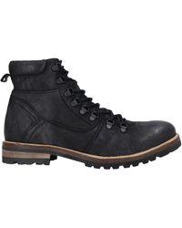 Lumberjack Ankle Boots - Black