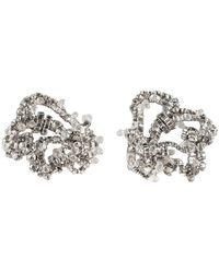 Rochas Earrings - Metallic