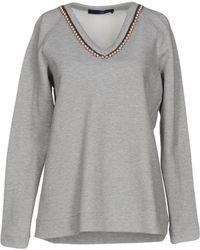 Blue Les Copains Sweatshirt - Gray
