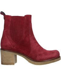 Emanuela Passeri Ankle Boots - Red