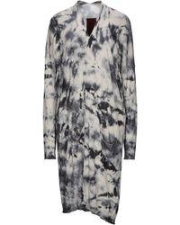 Masnada Overcoat - Grey