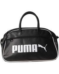 PUMA Travel Duffel Bag - Black