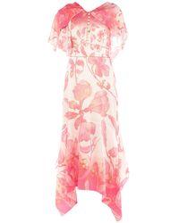 Peter Pilotto Long Dress - Pink