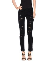 Carolina Wyser Denim Pants - Black