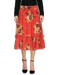 COACH - 3/4 Length Skirt - Lyst