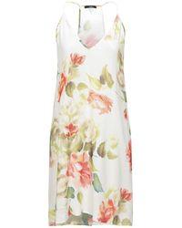Carla G Knee-length Dress - White