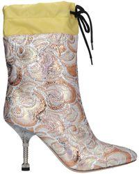 Miu Miu Ankle Boots - Pink