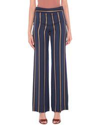 Via Masini 80 Trousers - Blue