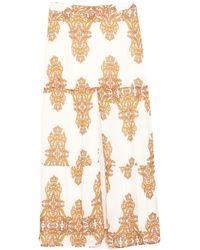 Silvian Heach Long Skirt - White