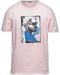 Grey Daniele Alessandrini T-shirt - Pink