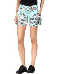 Thakoon Addition Shorts - Blue