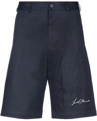 Isabel Benenato Shorts & Bermudashorts - Blau