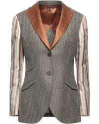 Maurizio Miri Suit Jacket - Grey