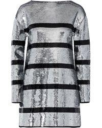 Sonia Rykiel Short Dress - Metallic