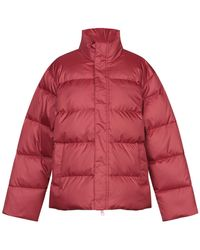 Carhartt Down Jacket - Red