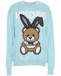 Moschino Sweater - Blue