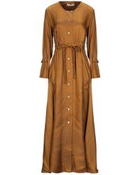Palmer//Harding Long Dress - Natural