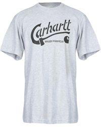 Carhartt T-shirts - Blau