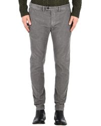 Department 5 Casual Trouser - Gray