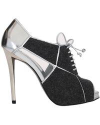 Roger Vivier Lace-up Shoe - Metallic