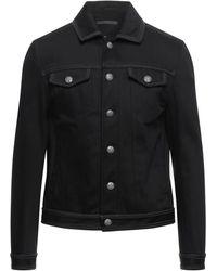 John Varvatos Denim Outerwear - Black