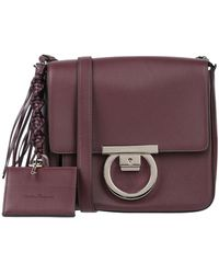 Ferragamo Cross-body Bag - Purple