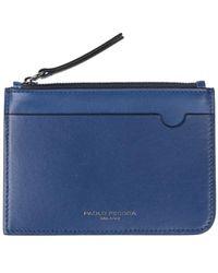 Paolo Pecora Wallet - Blue