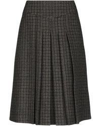 Celine 3/4 Length Skirt - Green