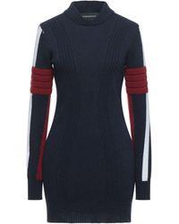 Rossignol Short Dress - Blue