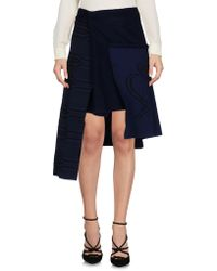 Collection Privée - Knee Length Skirt - Lyst