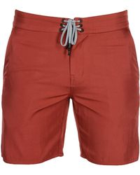 Outerknown Beach Shorts And Pants - Red