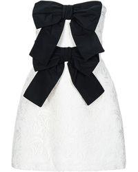 BROGNANO Short Dress - White