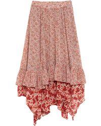 Free People Midi Skirt - Natural