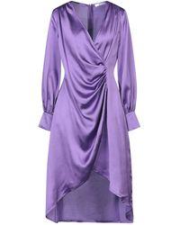 Glamorous Knee-length Dress - Purple