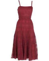 Sandro - 3/4 Length Dress - Lyst