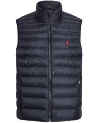 Polo Ralph Lauren Synthetic Down Jacket - Blue