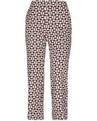 Maliparmi Cropped Pants - White