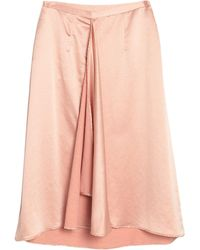 Brian Dales Midi Skirt - Pink