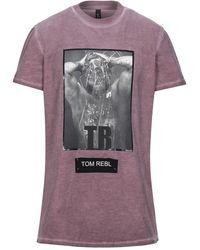 Tom Rebl T-shirt - Purple