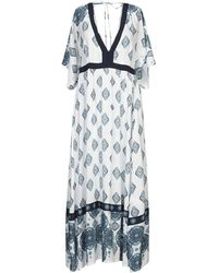 Mc2 Saint Barth Long Dress - White