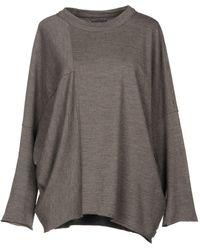 Oska Pullover - Grau