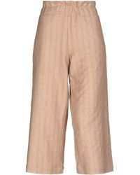 Collection Privée 3/4-length Trousers - Natural