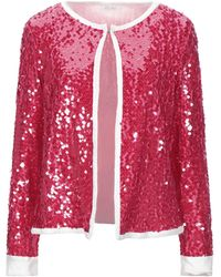 Motel Suit Jacket - Red