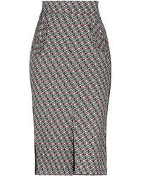 EMMA & GAIA 3/4 Length Skirt - Grey