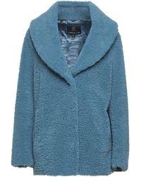 Unreal Fur Jacket - Blue