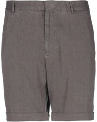 Giorgio Armani Shorts & Bermuda Shorts - Gray